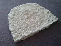 Špirálková bavlnena čiapočka pre dievčatko - skladom