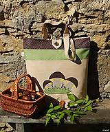 - Nákupná taška - tri hríbiky - 7031317_