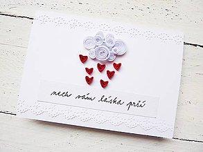 Papiernictvo - svadobná pohľadnica - 7030866_