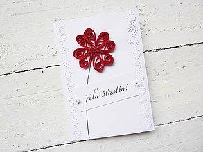 Papiernictvo - svadobná pohľadnica - 7030961_