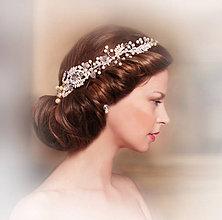 Ozdoby do vlasov - Spona Alžbeta, typ 120 - 7035128_
