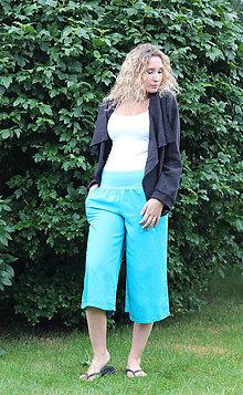 Nohavice - Volné letní kalhoty - 7033777_