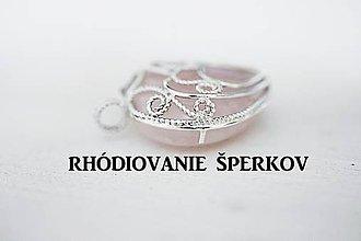 Iné šperky - RHÓDIOVANIE ŠPERKOV - 7033362_