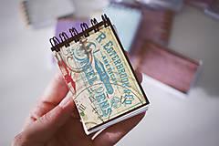 Papiernictvo - Mini *na písanie - 7035783_