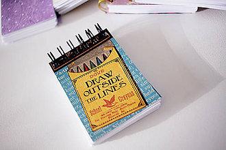 Papiernictvo - Mini *na písanie - 7035767_