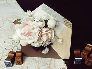 Dekorácie - dekorácia Flowering House IV. - 7035734_