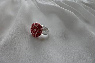 Prstene - Prsteň buttonkový - 7035144_