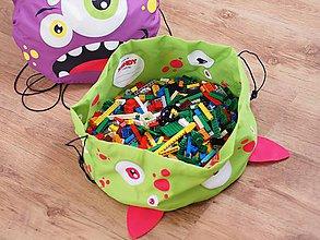 Detské doplnky - Vak na LEGO®kocky a hračky Xendy