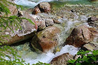 Fotografie - Autorská fotografia: Horský potok - 7035069_