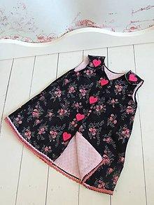 Detské oblečenie - Menčestrákové šatičky - 7034148_