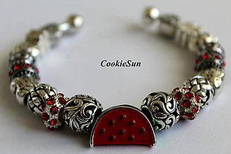 Náramky - Náramok Pandora Watermelon - 7035471_