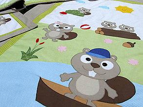 Textil - Hniezdo do postieľky a posteľné obliečky - 7034384_