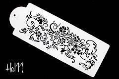 Pomôcky/Nástroje - Šablóna s ornamentom 8 - 7033593_