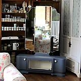 Nábytok - Toaletka Modrý mak :) - predaná - 7033880_