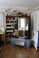 Nábytok - Toaletka Modrý mak :) - predaná - 7033882_