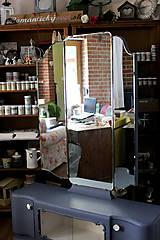 Nábytok - Toaletka Modrý mak :) - predaná - 7033885_