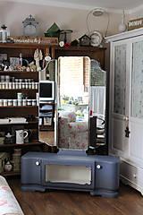 Nábytok - Toaletka Modrý mak :) - predaná - 7033886_