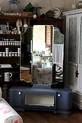 Nábytok - Toaletka Modrý mak :) - predaná - 7033888_