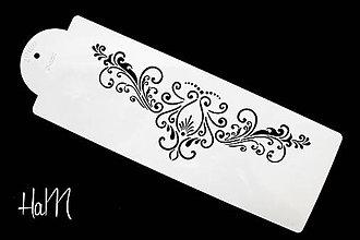 Pomôcky/Nástroje - Šablóna s ornamentom 1 - 7033573_