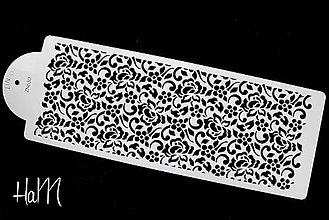Pomôcky/Nástroje - Šablóna s ornamentom 4 - 7033591_