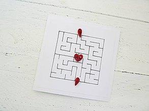 Papiernictvo - svadobná pohľadnica - 7034077_