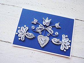 Papiernictvo - svadobná pohľadnica - 7034183_