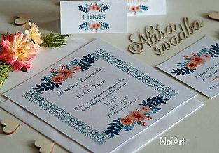 Papiernictvo - Svadobné oznámenie 3 - 7038305_