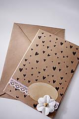 Papiernictvo - Scrapbook pohľadnica natur *3 - 7037630_