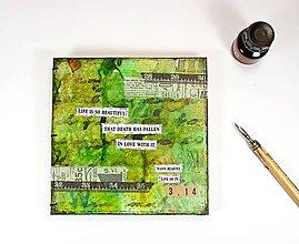 Papiernictvo - Zápisník s citátom z knihy: Yann Martel - Life of Pi - 7036335_