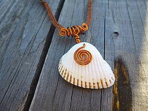 Sady šperkov - Dovolenka pri mori / náušnice a náhrdelník - 7036590_