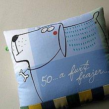 Úžitkový textil - 50 ... A FURT FRAJER - polštář - 7037677_
