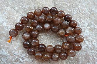 Minerály - Slnečný kameň H 10mm - 7038772_