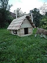 Pre zvieratká - Búda pre psa- domček - 7038599_