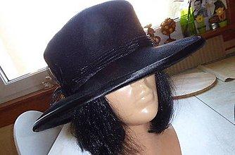 Čiapky - Čierny klobúk - 7038025_
