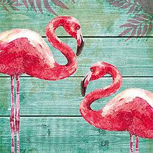 """Papier - Servítka """"Summer Flamingos"""" - 7038837_"""