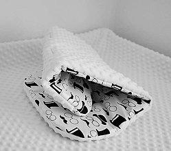 Textil - Luxusná podložka do kočíka s minky - 7039711_