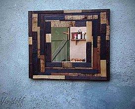 Zrkadlá - Dekoratívne zrkadlo rustic - 7041694_