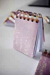 Papiernictvo - Mini pastelový *na písanie - 7040979_