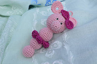Hračky - Slečna slonica - 7040276_