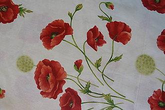 Textil - Látka Maky a púpavy na režnej - 7041706_