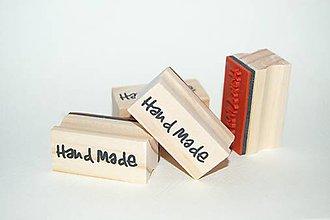 Pomôcky/Nástroje - Pečiatka Hand Made - 7041193_