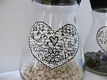 Nádoby - Sklenené poháre s vrchnákom - 7041062_