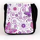 Iné tašky - taška na plece motýle - 7042966_