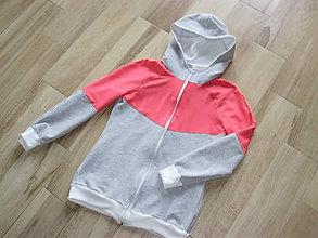Tehotenské oblečenie - Mikina na nosenie bábätka VII - 7039818_
