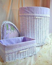 Košíky - Do kúpeľne SUSANITA/set - 7041556_
