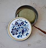 Drogéria - Plechová dóza na šampón ľudový ornament - 7042675_
