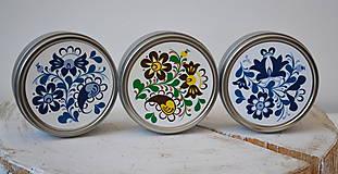 Drogéria - Plechová dóza na šampón ľudový ornament - 7042676_