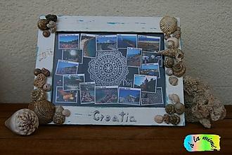 Rámiky - Rám na fotky Spomienky na more - 7043010_