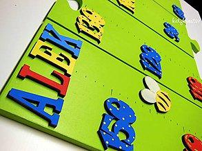 Dekorácie - rastový meter puzzle - 7046159_