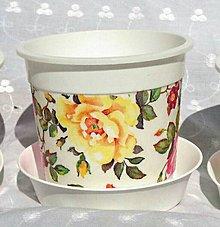 Nádoby - Kvetináč 3. Ø 11cm